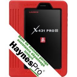 X431 PRO III / V+ version Europe 2014